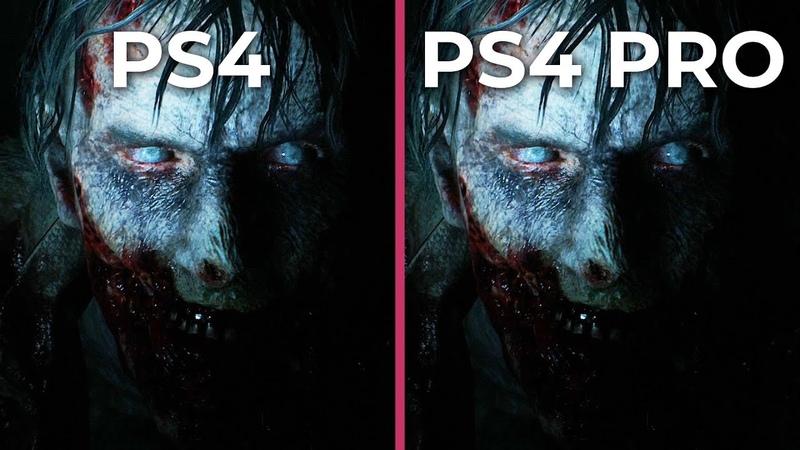Resident Evil 2 Remake – PS4 vs. PS4 Pro Frame Rate Test Graphics Comparison