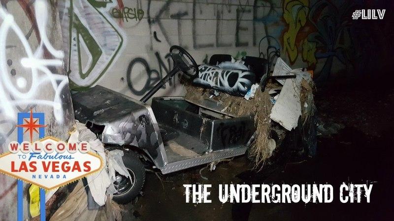 Las Vegas Underground City .