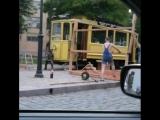 Трамвай открыт