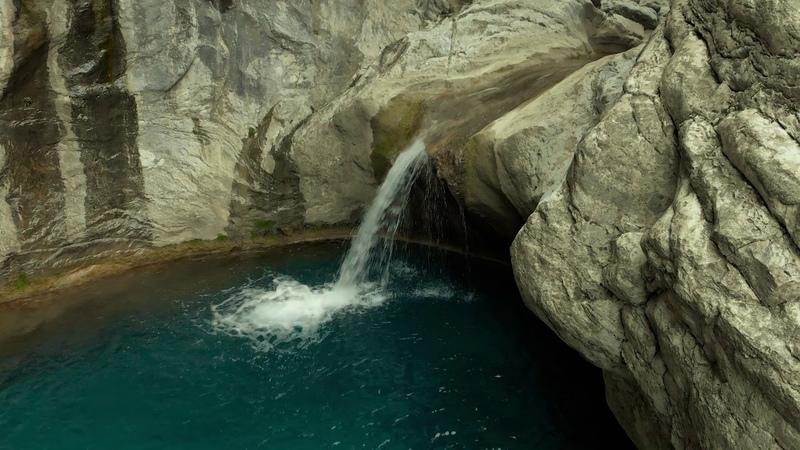 Водопад в Мармарисе - съёмка видео с квадрокоптера в 4К / DJI mavic air video drone in Marmaris