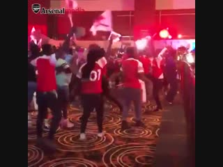 Lacazette levelled... and lagos went wild - - loving your support, naija gooners ️ - - arsliv