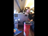 studio in the airplane