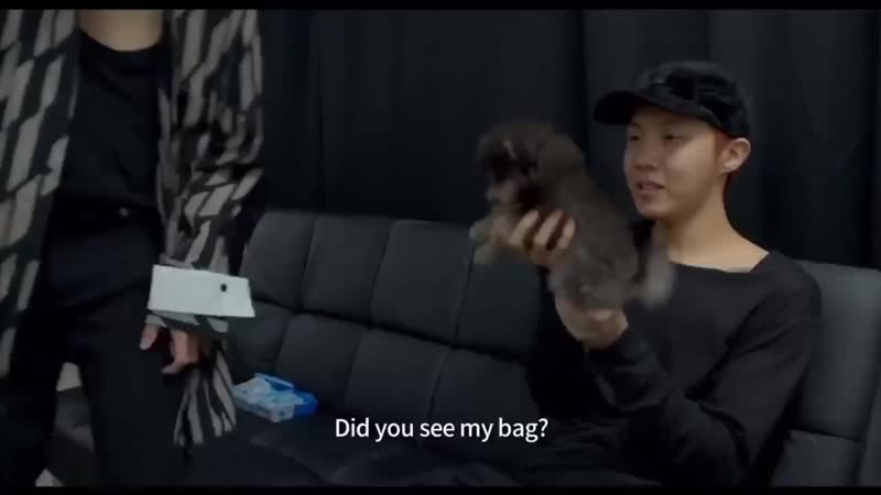 Tanie, did you see his bag