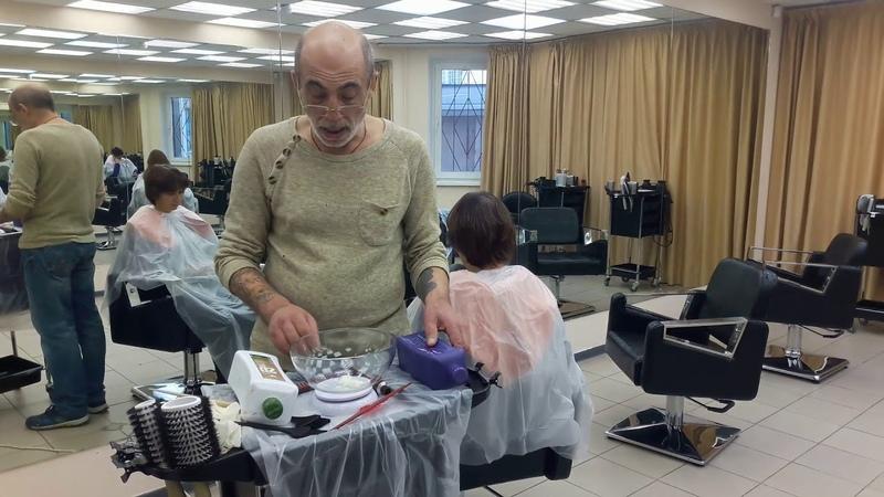 За пол часа научил всех красить седой волос дома без стилистов шабашников