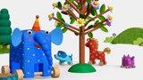 Деревяшки - Деревце - Развивающие мультики для малышей - серия 25
