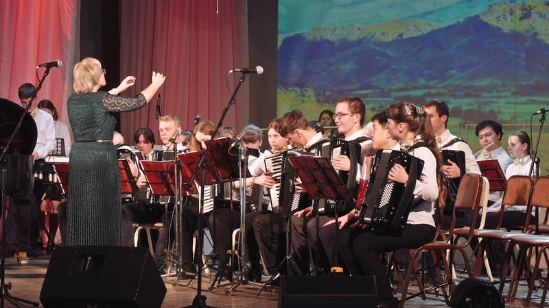 Оркестр аккордеонистов и баянистов Гармония А Хачатурян Танец с саблями из балета Гаянэ