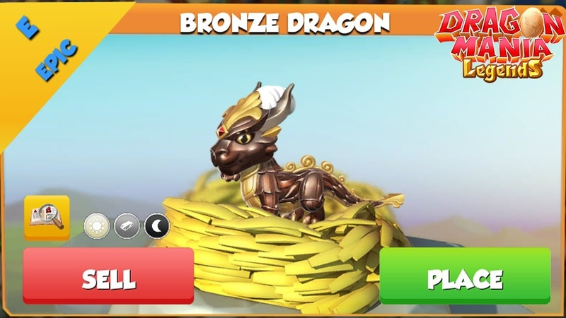 Bronze Dragon Hatching! get Knight Dragon | Dragon Mania Legends | Part 1323 HD