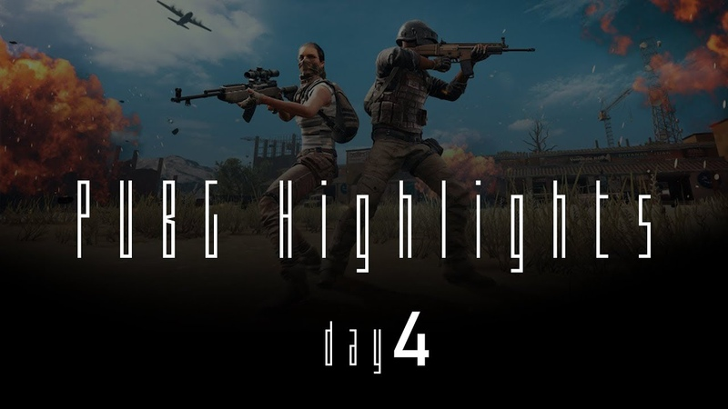 PUBG Highlights day4