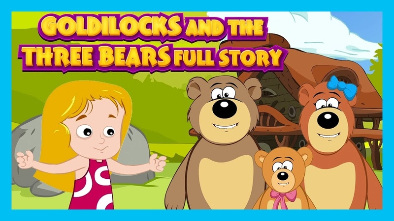 Goldilocks And The Three Bears Story For Kids Popular Kids Story Story Compilation