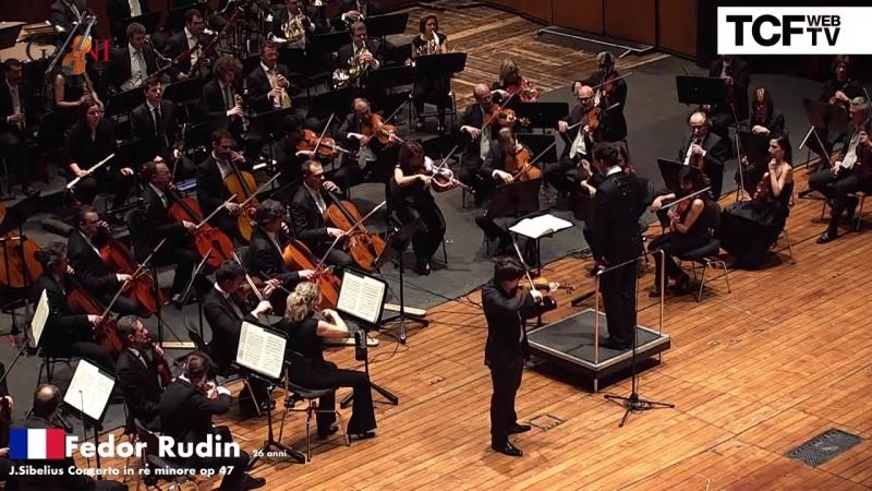 55-й Конкурс скрипачей имени Паганини. Финал: Fedor Rudin - J. Sibelius ''Concerto in re minore op. 47'' (Генуя, 2018)