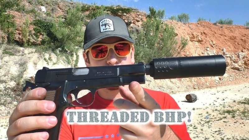 Hi-Power Threaded Barrel from Lone Wolf! Suppress that BHP.