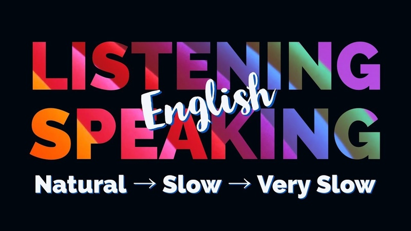 English Listening Speaking Practice - Listen and Repeat the Sentences