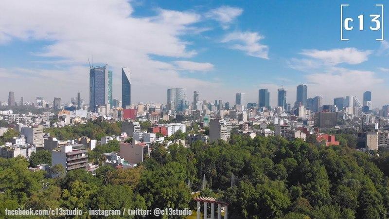 Mexico Skyline CDMX Parque México