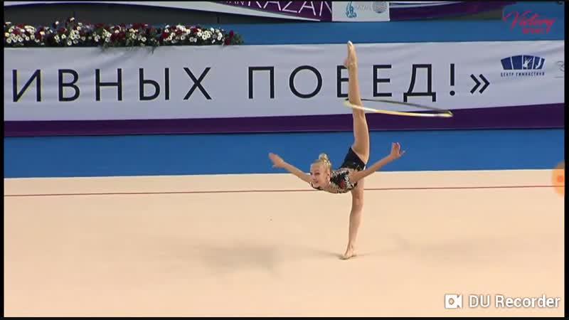 Анастасия Тишкевич Обруч Victory Cup 2018