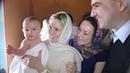 Клип с крещения Анастасии. Храм Живоначальной Троицы в Хорошёве