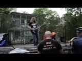 zhekis lyn - throwing+palladio(karl jenkins cover) (live)