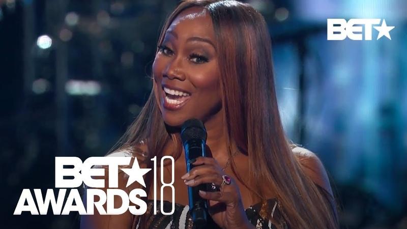 Yolanda Adams Sings Anita Bakers You Bring Me Joy | BET Awards 2018
