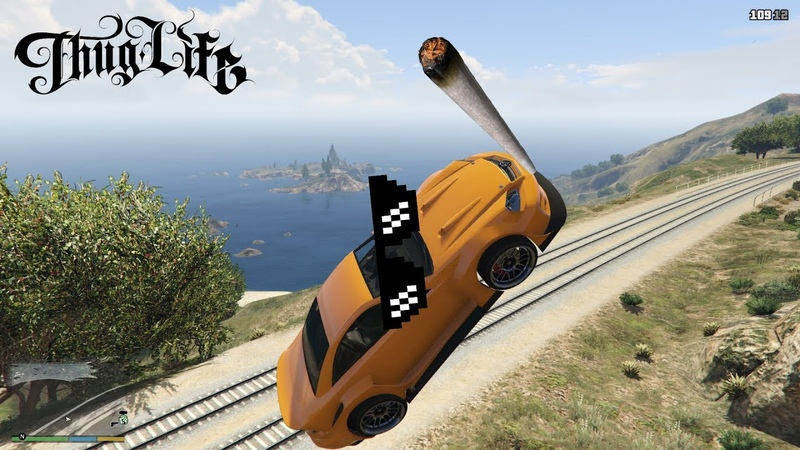 GTA 5 Thug Life | Фейлы, Трюки, Эпичные Моменты | Приколы в GTA 5 23