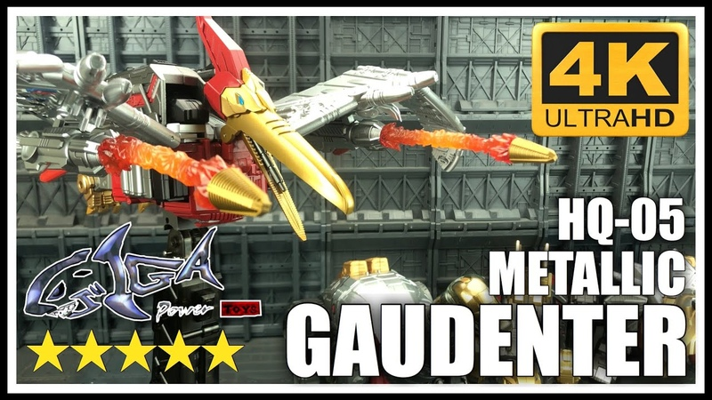 Giga Power Toys HQ-05 Red Metallic GAUDENTER Transformers Masterpiece Diaclone Swoop