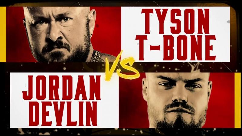 [My1] Британский турнир 2018 - Джордан Девлин против Тайсона Т-Бона (1 раунд)