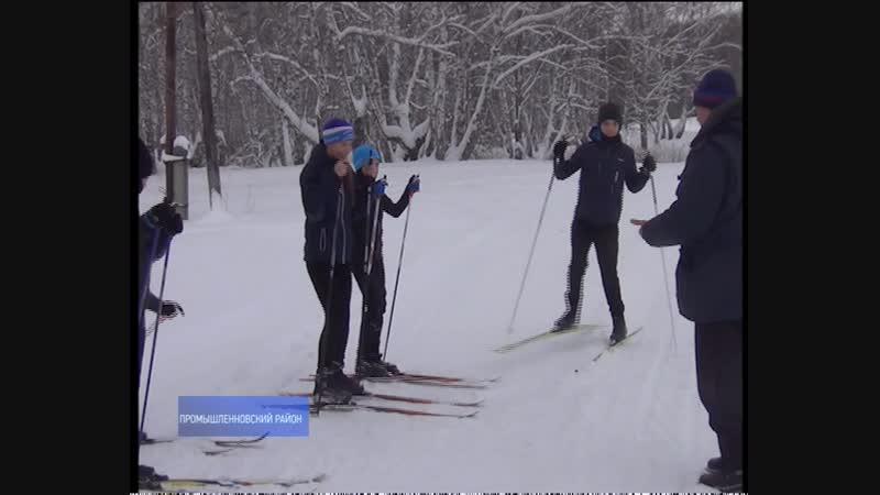 Житель Промышленновского района на добровольных началах содержит лыжную трассу в селе Калинкино