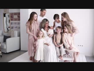 Видео ролик со съемки новорожденного