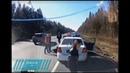 Водитель Lexus сбил инспектора ДПС в Ленобласти
