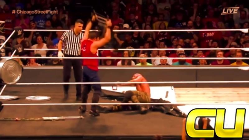 NXT Takeover Chicago Jonny Gargano vs Tommaso Ciampa Street Fight Highlights