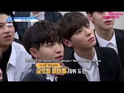[ENG] PRODUCE 101 Season 2 Ep.3 - NU'EST Cut 프로듀스101 시즌2 3회 뉴이스트 컷