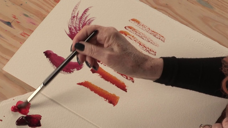 Watercolor Brushwork Color Tips with Jean Haines