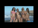 Mini micro topless bikini sexy babes on beach 18 only