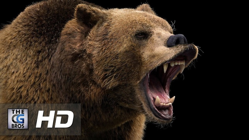 CGI VFX Breakdowns: Brown Bear - by Ahmed Shalaby