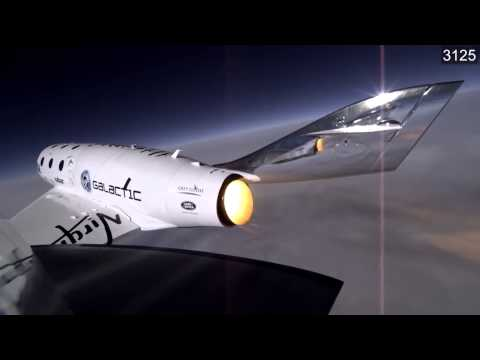 SpaceShipTwo - Catastrophic Failure Moment | Video