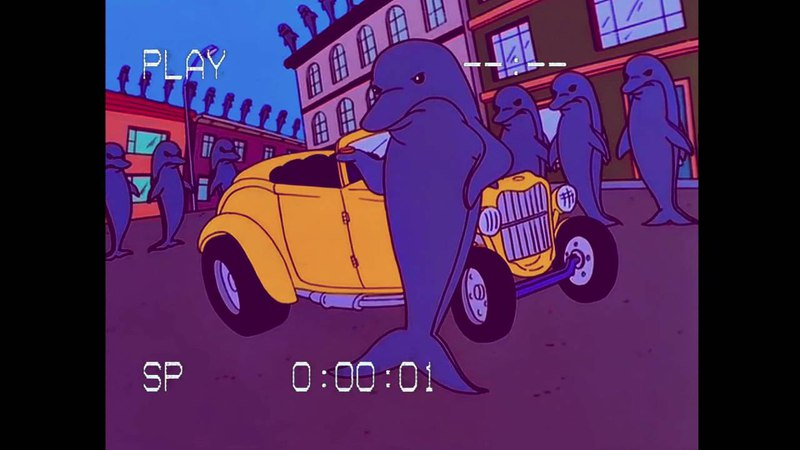 SIMPSONWAVE dolphins