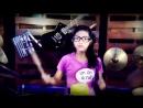 Chubby Checker Lets Twist Again Drum Cover by Nur Amira Syahira