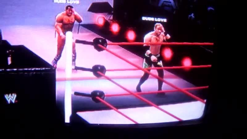 Глюк в игре WWE 13 Christian and British Bulldog.11DeadFace