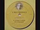DJ. LEMON D. - I CAN'T STOP (V.RECORDINGS 1996)