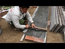 Techniques Construction Creative From And And Cement - Build A Beautiful Concrete Door Correctly