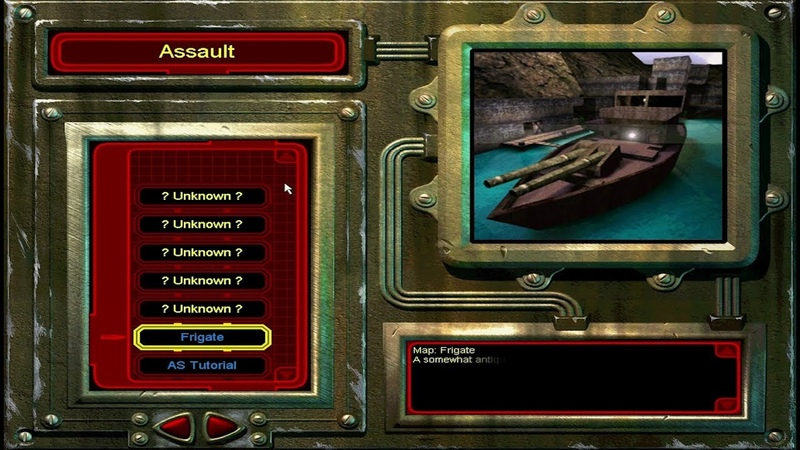 Unreal Tournament Frigate Assault