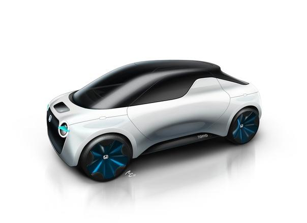 Istituto Europeo di Design и Honda представят на Женевском моторшоу концептуальный электропикап будущего Итальянский Istituto Europeo di Design представит на Женевском мотошоу концептуальный