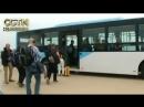 Группа иностранных журналистов покинула город Вонсан на восточном побережье КНДР и на поезде едет в район Пхунгери
