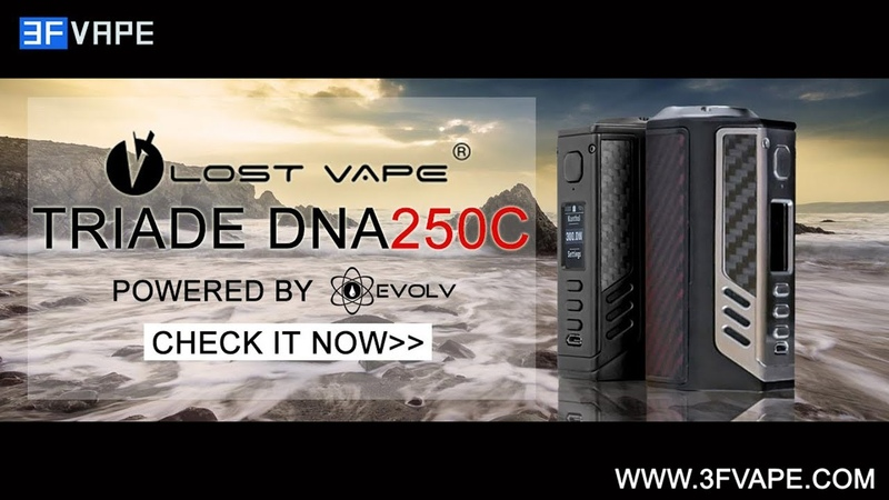 Lost Vape Triade DNA250C 300W TC Mod