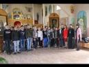 Встреча библиотекарей и отца Кирилла с молодежью.