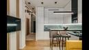 Дизайн однокомнатной квартиры 43м2 спокойная версия