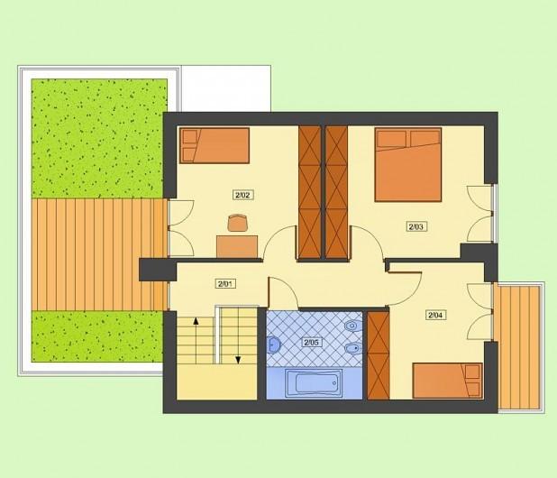 Одноэтажные коттеджи с мансардой.