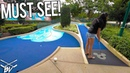 MUST PLAY ONE OF A KIND MINI GOLF COURSE AT DISNEY WORLD! LUCKY HOLE IN ONES!