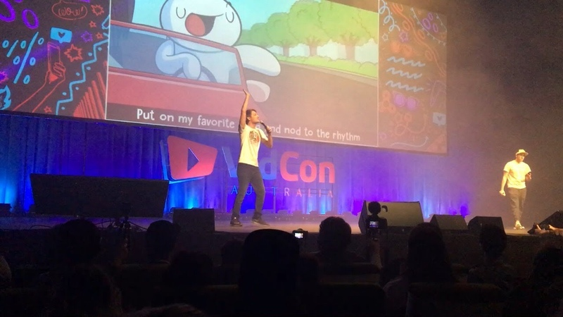 LIFE IS FUN LIVE PERFORMANCE BY THEODD1SOUT (VIDCON AUS 2018)