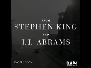 From Stephen King and J.J. Abrams comes a new Hulu Original series Castle Rock.