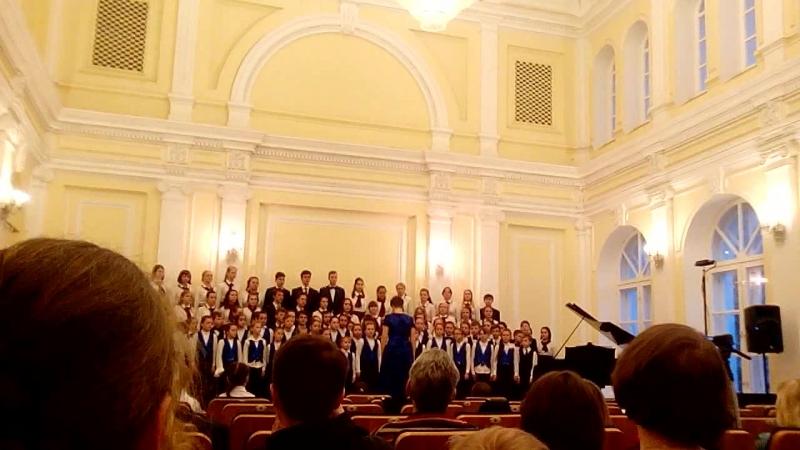 Dies Irae В.А.Моцарт. Исполнение смешанным хором( Музыкальные школы №3,№7)