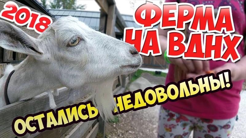 Ферма на ВДНХ - НЕ РЕКОМЕНДУЕМ, так себе развлечение